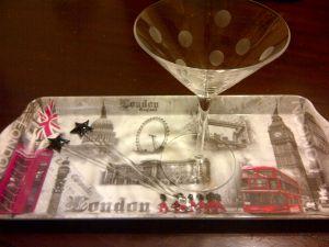 my martini glass