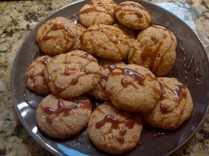 caramel apple cookies